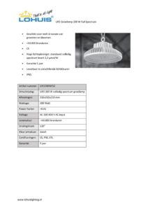 thumbnail of Specificatiesheet UFO200WFS2